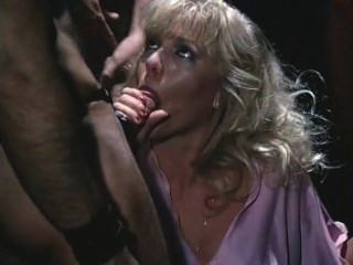 Old School Gangbang With A Blonde Slut