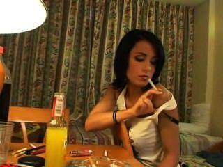 Jade Laroche Smoking