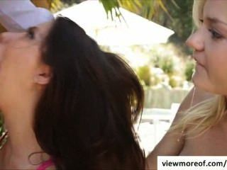 Couples And Teen In A Threesome Fucking Vacation