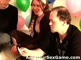 Amateurs Answer Intimate Questions In Sex Dare Game