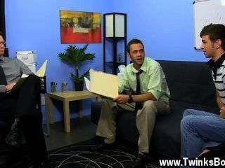 Sexy Gay Brian Bonds And Marc Peron Need A Recent Pa In The Office And