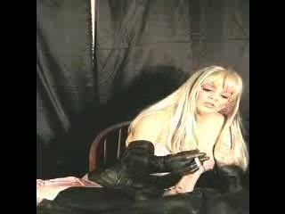 Mistress Giving Smoking Handjob