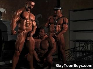 3d Army Boys Love Big Cocks!