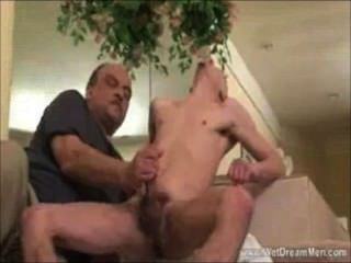 Watch How He Surrenders To The Pleasure Of Cumming