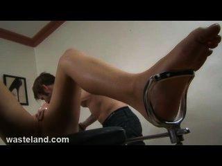 Wasteland Bondage Sex & Submission - Tatoo Fetish Submissive Tied & Fucked
