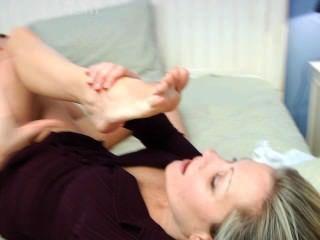 Babysitter Foot Sniffing