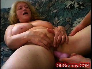 Cock Hungry Slutty Granny