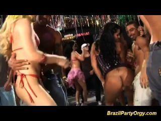 Brazilian Anal Samba Party Orgy