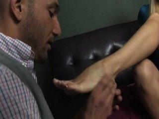 Katy With Beautiful Feet Worshipped
