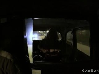 Blonde Milf Fucking Taxi Driver At Night