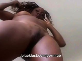Monique Gets Loads Of Cum Unloaded On Her Ebony Face Only At Blacklust