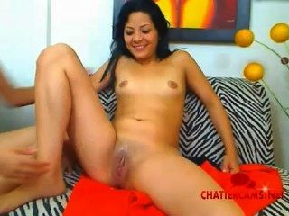 Latin On Latin Girls Pussy Tongue Fun!