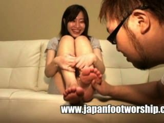 Japanese Foot Worship 18