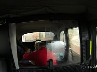 Blonde Mature Pussy Licked And Fucked In Taxi