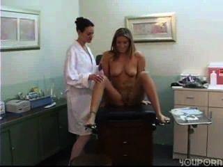 Lesbian Doctor In White Bra 1/3