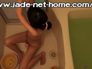 Spycam In The Family, Bath Masturbation Of Sisters Living At Home