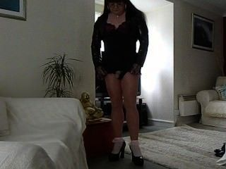 Tgirl In Pantyhose