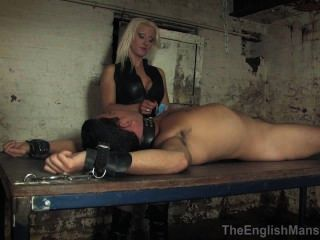 Vixen naughty mistress loves teasing her man in front of his 10
