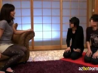 Asian Mature Lady Virgin Hunting Milf