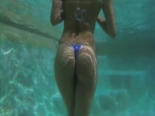 Sexy Girl Goes Swimming...