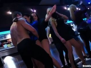 Gina Devine Having Fun At A Party