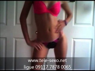 Sexy Teen Strip Tease tele-sexo.net 09117 7878 0065