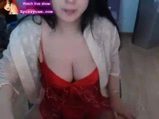 Sexy Asian Lady Has Big Boobs