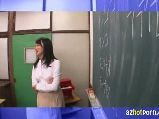 English Teacher With Inexperienced Pussy