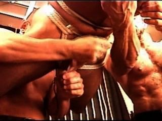Cbt Electro Anal Probe Muscle 3some Cum.