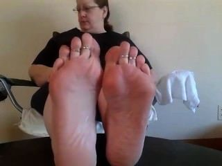 Mature Bbw Oiled Soles