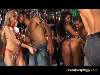 Brazil Anal Carneval Fuck Fest Orgy Party