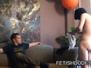 Skyler Grey And Brandon Stone: Master And Slave Fetish Scene