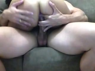 Latin Chick Fucks In Big White Amateur Dick