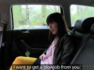Fake Taxi Driver Fucks Japanese Tourist
