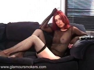 Redhead Smoking Fetish Teen Part 2