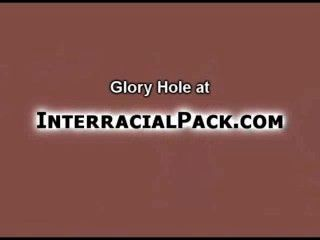 Black Cock Gloryhole For A Latin Cutie!