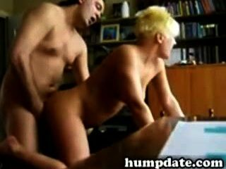 Blonde Wife Gets Fucked Doggystyle