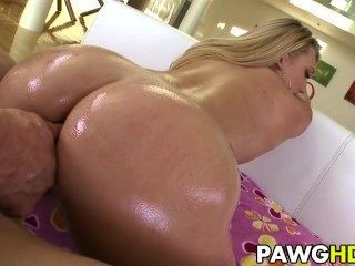 Pawg Aj Applegate Gets It In Her Ass