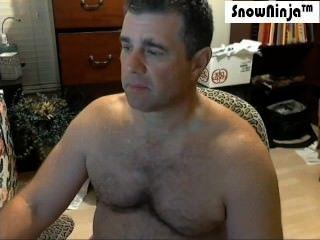 Straight Married Kinky Daddy Webcam Cum