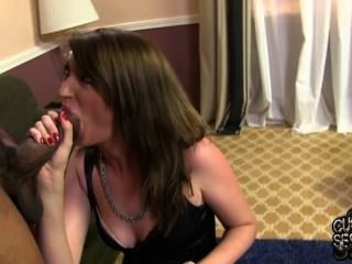 Alana Rains Cigar Smoking Interracial Cuckold Session