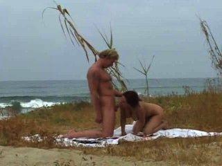 Lucky At The Beach