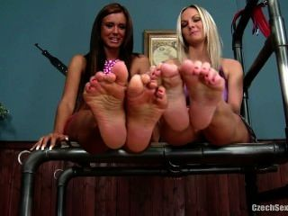 Jessie Vendula Feet Tickled