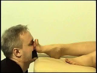 Foot Sniffing - Footsexfantasy - Mature Footfish Nylon Fetish