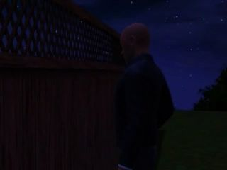 John's Step-father Is Look For Him, When He Looks Over The Fence To See