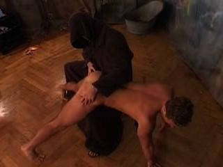 Czech Guy Spanked And Punished