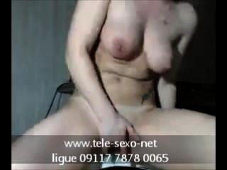 Putona Gostosa Se Masturbando Na Webcam tele-sexo.net 09117 7878 0065