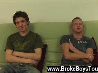 Gay Movie Of In The Studio Today, We Have Preston And Leon. They Are Here