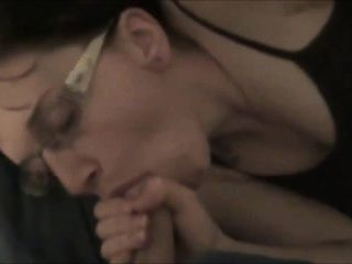 Ugly Milf Sucking And Fucking Hubby Cum On Ass