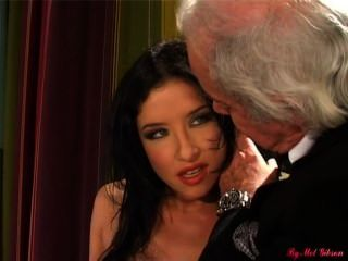 French Swinger Tiffany Hopkins Fucked In The Ass In Front Of Her Husband