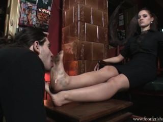 Serbian Goddess - Dirty Foot Licking